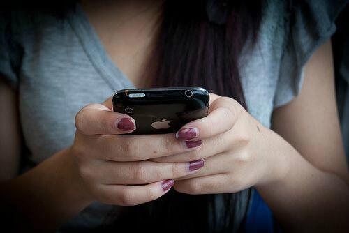 мобильный пользователь