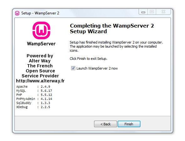 Установить WAMP на компьютер
